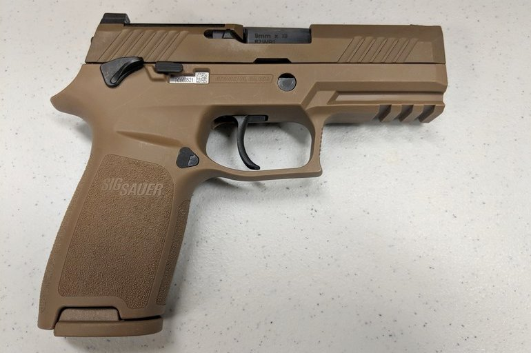 Air Force Begins Deployment of the SIG SAUER M18 Duty Pistol