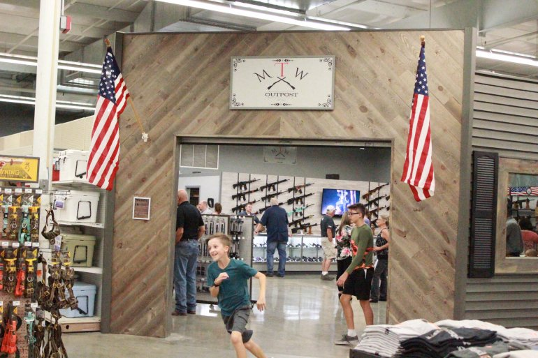 THE GREAT REVEAL:  Big R Springfield opens a (very nice) gun store within a farm store…
