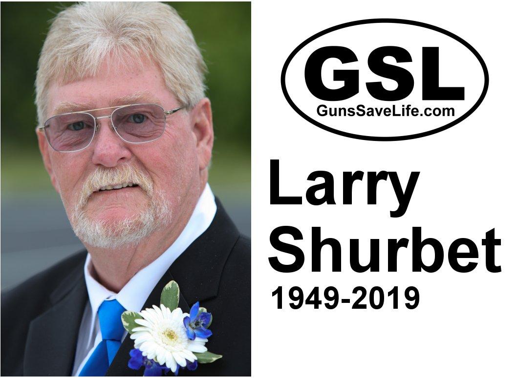 A HERO PASSES:  Larry Shurbet, long-time GSL treasurer & leader.