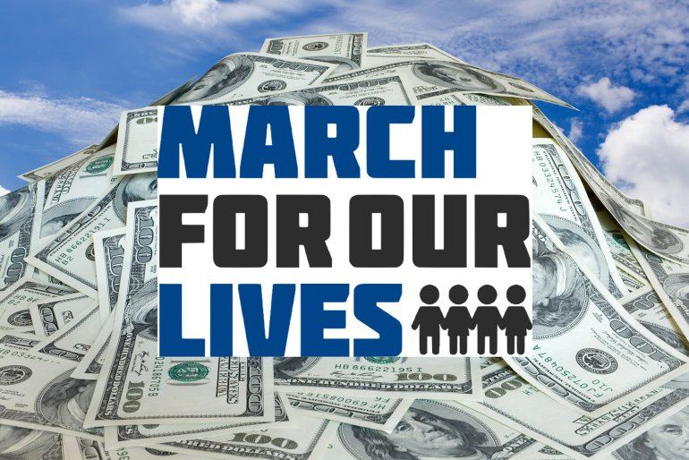 36 big-dollar, dark money contributions fund 90% of March For Our Lives