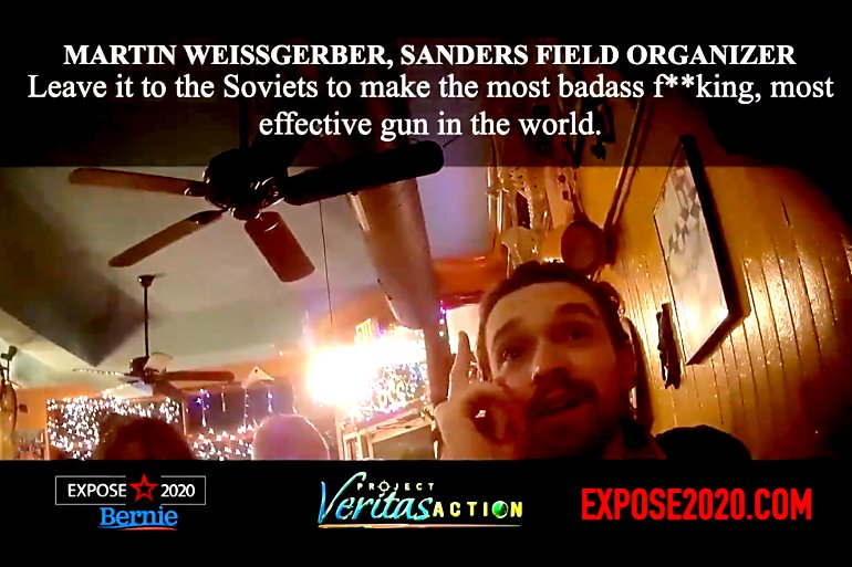 Sanders Staffer Wants an AK-47 (and Matching Tattoo) to Subjugate Those Who Don't Support Bernie