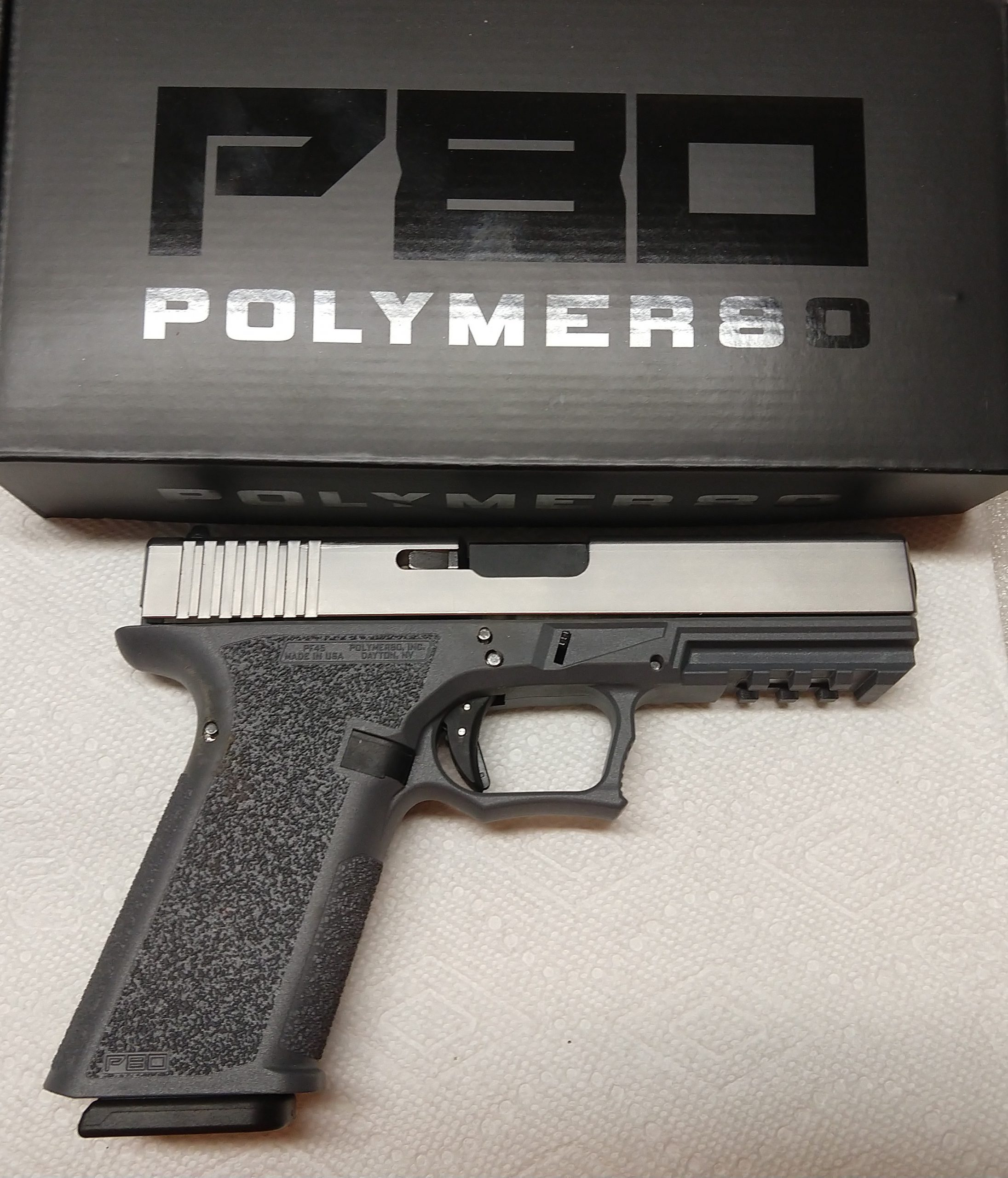 Washington DC files civil suit against Polymer 80 claiming gun parts are really illegal partially assembled firearms.