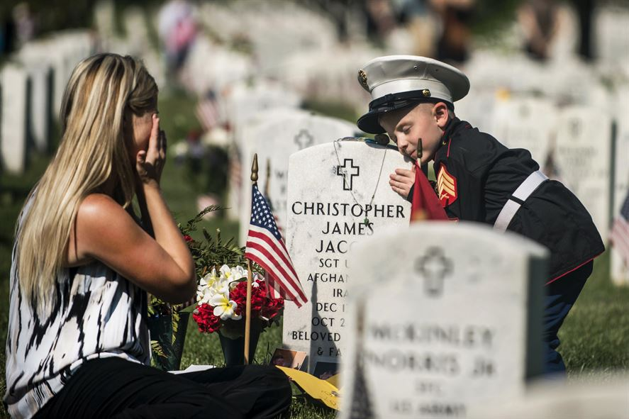 MEMORIAL DAY:  Some gave up everything.  We owe them a debt we cannot repay.
