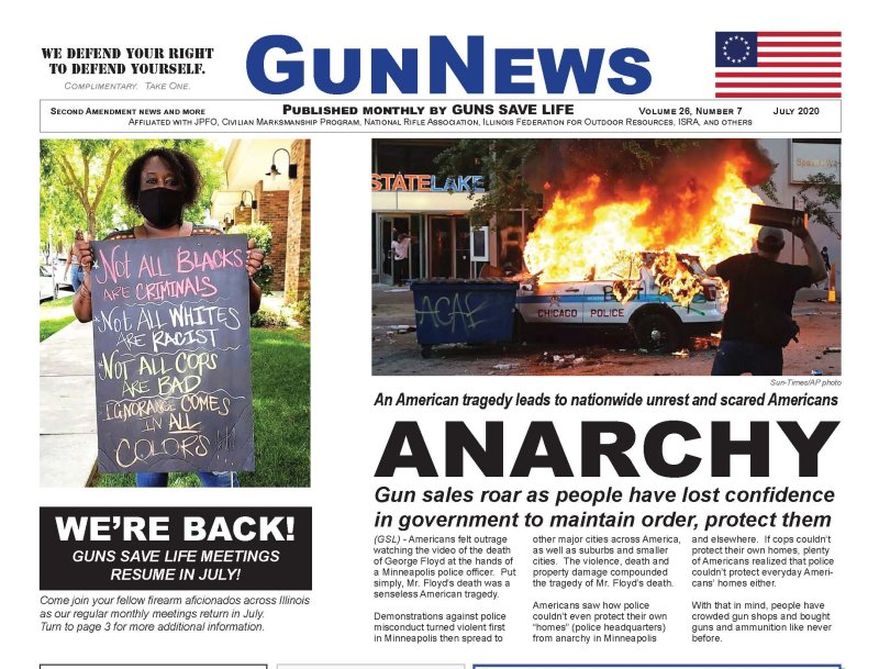 GunNews Magazine:  July 2020 Issue