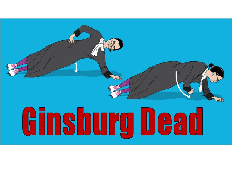 Ruth Bader Ginsburg DEAD.