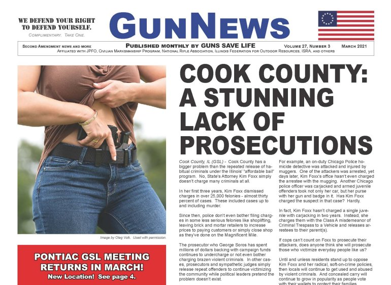 GUNNEWS:  March 2021 Issue available to download