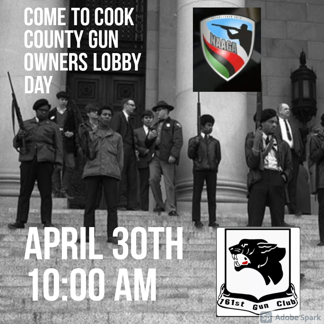 Cook County Gun Owners Lobby Day Coming April 30 in Chicago