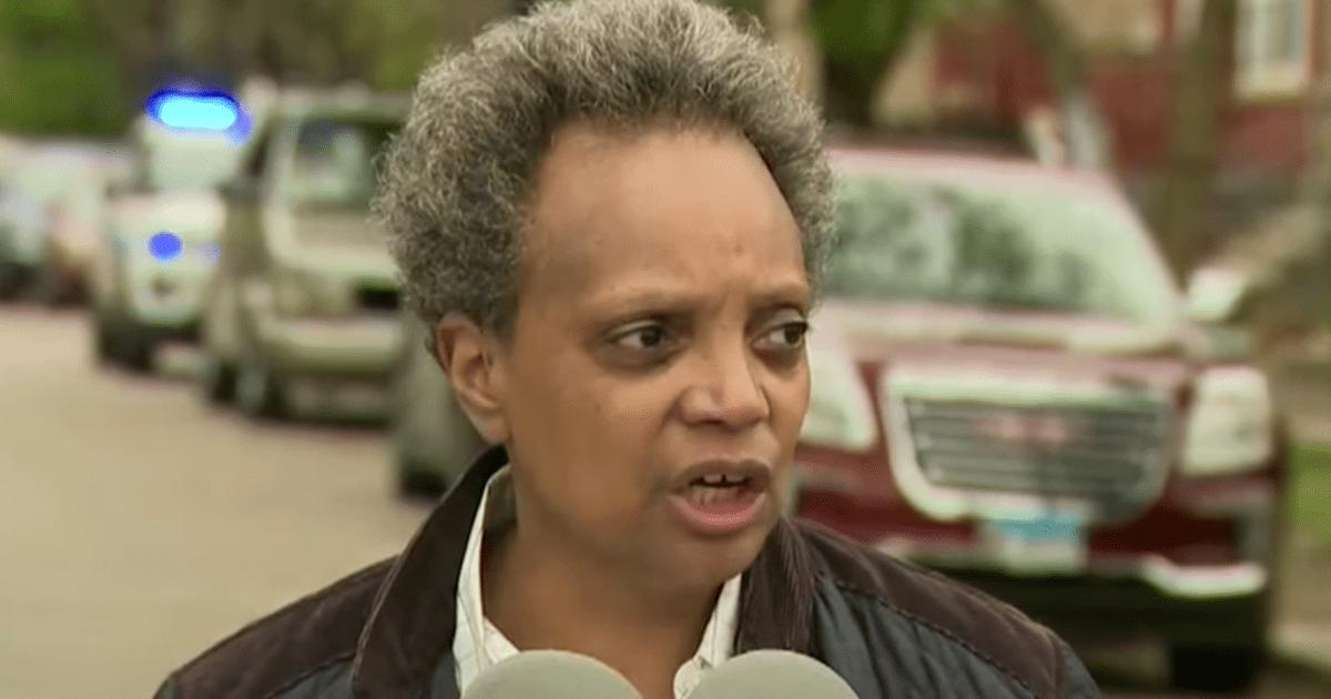 Mayor Lori Lightfoot blames guns…  not the felons her fellow soft-on-crime Dems like Kim Foxx don't prosecute for officer's death