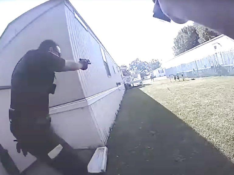 NORMAL, IL GUN BATTLE ON VIDEO:  Bodycam video of gun battle from August 30, 2021